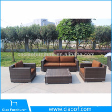 Competitive Price Plastic Rattan Woven Furniture Outdoor